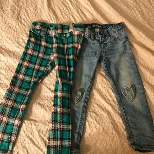 Size 4T girl's pants Janie & Jack and Cat & Jack